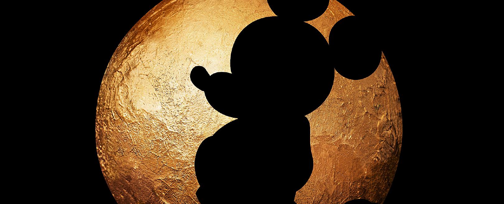 迪士尼黑皮月饼